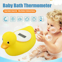 LCD Floating Duck Digital Bath Thermometer Water Sensor Bathroom Safety Baby Toy