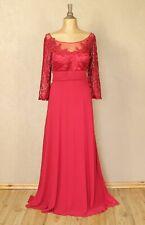New Womens Dress Wedding Cocktail Evening Vintage Party Lace Elegant UK 18 - 20