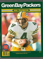 Lot of 4 Green Bay Packers NFL Football Official Yearbooks 1996 1996 2005 2006