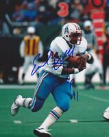Earl Campbell Autographed Signed 8x10 Photo ( HOF Oilers ) REPRINT