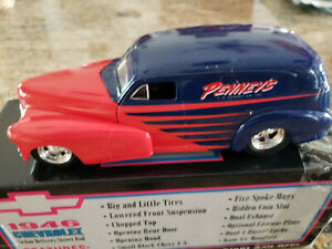JC Penney's 46 Chevy Chevrolet Sedan Delivery Die Cast Collectors Bank 1/25