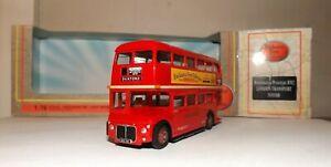 EFE 30303SB LONDON TRANSPORT PROTOTYPE RM2 ROUTEMASTER D/D BUS 4MM 1:76 SCALE