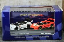 Kyosho 1/64 Honda Nsx Gt 2007 Test Car + Arta 2007 Suzuka Circuit Box Set Gt500
