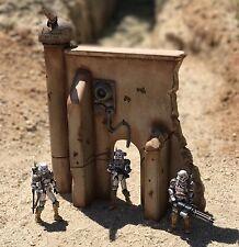 Custom Gun Tower Fortress Wall Ruins Playset Diorama Star Wars Acid Rain 1:18
