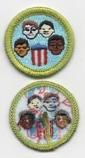 "American Cultures Merit Badge, Type L, ""Since 1910"" Back (2013-Current), Mint!"