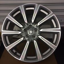 "Volvo XC90 20"" 10 Spoke silver diamond cut alloy wheel 173 31414514 Genuine"