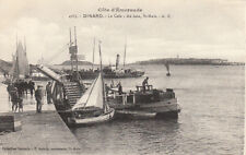 DINARD 4965 la cale les vedettes voilier bateau de pêche