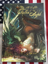 Nei Ruffino's Fallen Angels Artbook with Sketch and Autograph