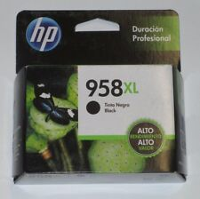 Genuine HP 958XL Black High Yield Ink Carts (L0R41AL) Office Jet Pro. Exp 03/18