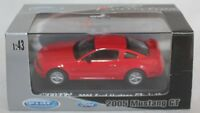 FORD MUSTANG GT 2005 - WELLY 1/43 NEUF