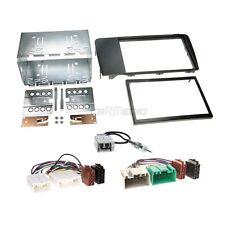 Volvo V70 04-07 2-DIN Autoradio Einbauset Adapter Kabel Radioblende