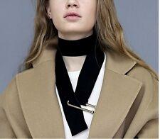 New Design Black Velvet leather Women's Fashion Choker Sweater Necklace Gift AD