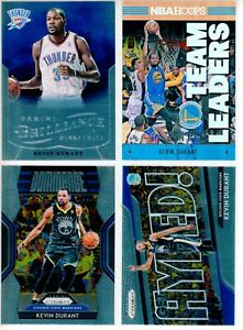 2012-13 Brilliance Hoops Foil Prizm Kevin Durant Lot Warriors Nets