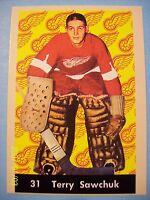 1993-94 Reprint # PR-37 of a Parkhurst 1961-62 Series Card # 31 Terry Sawchuk!