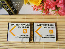 NP-BN1 Battery  for Sony DSC-WX220 DSC-W800 DSCW830 W610 W690 T110