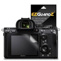 4X EZguardz New Screen Protector Cover HD 4X For Sony Alpha A7 III