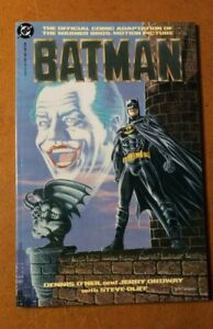 BATMAN (1989) Movie Adaptation, Dennis O'Neil, Jerry Ordway, Hi Grade DC Copper