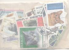 ZAA- CHATS  50 TIMBRES DIFF. OBLI. Ts PAYS