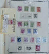 Powerful Mint Ryukyu Stamp Collection in a Scott Specialty Album AWESOME!