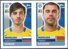 TOPPS CHAMPIONS LEAGUE-2016-17- #QFK09-10-ROSTOV-TIMOFEI KALACHEV / A EROKHIN