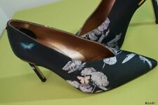 TED BAKER JAZIMIN 3 BLACK HEELS COURTS PUMPS SHOES SIZE 4 37 RRP £159 NEW!!!