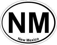 Oval (New Mexico); State Bumper Sticker