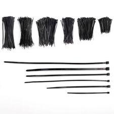 Attache-câbles en plastique de câbles informatiques noirs