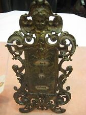 Antique Bronze Table Calendar