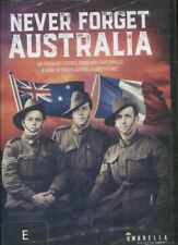 Never Forget Australia (DVD, 2017) - 6 POIGNANT STORIES FROM WORLD WAR 1