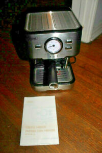 Gevi GECME403-U Espresso Machine With Built in Frother Stainless Steel BF#10