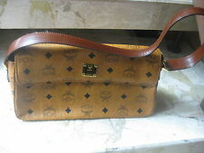 "Authentic   *MCM* - HAND  BAG  ""JOHANNA""  in  cognac / tan ----  NEW condition"