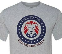 The Patriot Party -MAGA- Time to Rise - Support out President - Fast Shipping