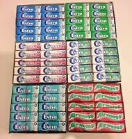WRIGLEY'S CHEWING GUM BUBBLE MINT/AIRWAVES/COOL BREEZE & SPEARMINT 15 & 30 PACKS