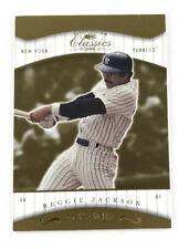2001 Donruss Classics #160 Reggie Jackson Legend New York Yankees