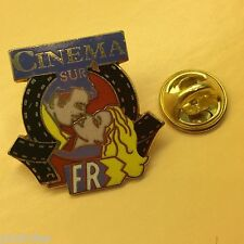 Pin's Folies *** Media TV FR3 cinema pin'up femme charme enamel egf