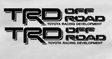 """TRD Toyota Truck Tacoma Off road Vinyl Decals Emblem 3"""" x 18"""""""