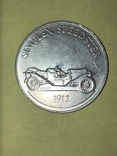 Simplex Speedster 1912 Sunoco DX Antique Car Coin Game Series 1