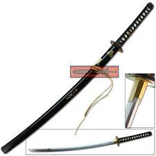 Sugoi Steel Katana Ninja Kill Sword 1060 High Carbon Blade Wild Bill Full Tang