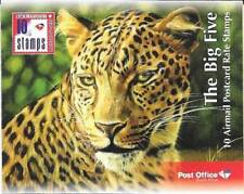 South Africa 2017 Big Five Booklet complete very fine unhinged