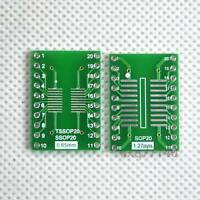 20pcs SO/SOP/SOIC/SSOP/TSSOP/MSOP 20 to DIP Adapter PCB Board Converter Arduino