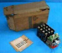 GE CR2810A14EL RELAY 6 NO 6 NC CONTACTS 10 AMP 600 VOLT RATED