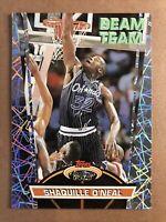 1992-93 Topps Stadium Club Shaquille O'Neal Rookie RC BEAM TEAM #21 Magic Hot!