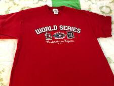 St. Louis Cardinals 2006 World Series Cardinals VS Tigers T-Shirt  size L