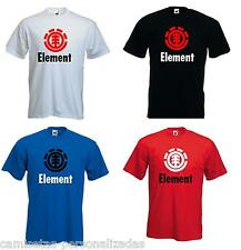 CAMISETA ELEMENT, ECKO, DC, VANS, CARHARTT