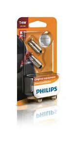 Philips 12929B2 - Bayonet Globe 12V 4W fits Saab 9-3 1.8 Turbo 110kw, 1.9 TTi...