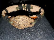 On Bracelet Leather Tie