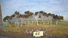 Model Trees Australian Gums 8 Assorted NSWGR QGR  train rail HO OO N  lot 100M