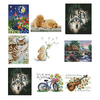 Stamped Dimensions Counted Cross Stitch Kits for Beginners Embroidery Craft DIY