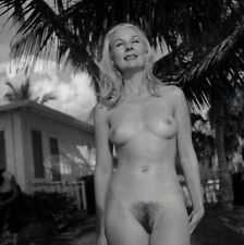 Bunny Yeager Pin-up Camera Negative Beautiful Dottie Sykes Nude Playboy Model NR