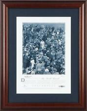 """Sir Donald Bradman Hand Signed """"The World Record"""", Licensed by CA, Framed"""